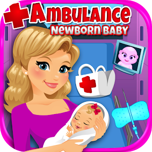 Ambulance Newborn Baby & Mommy for PC and MAC