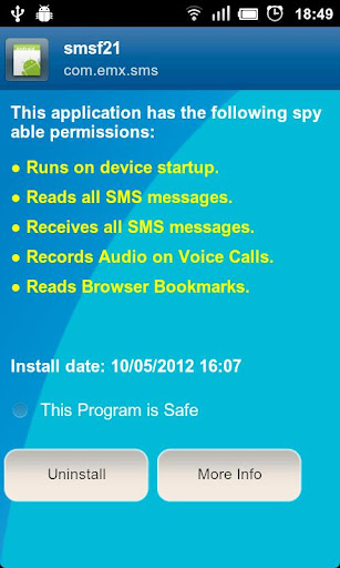 Anti Spy Mobile Free 1.9.10.44 screenshots 5