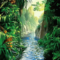 Jungle River Live Wallpaper icon