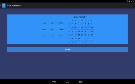 玩生產應用App|请检查您的参与(Check Your Attendance)免費|APP試玩