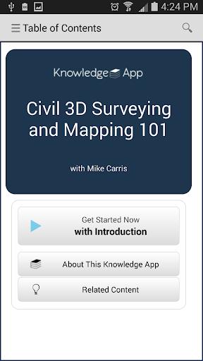 kApp Civil 3D Survey Maps 1