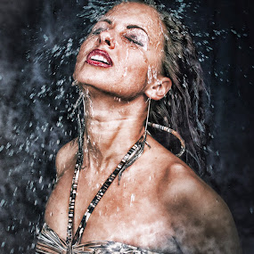 Water by Emanuel Correia - People Portraits of Women