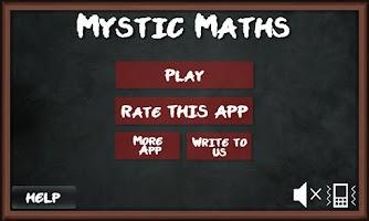 Screenshot of Brainy Mystic Maths Block Game