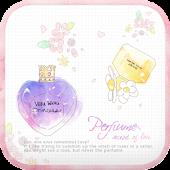 perfume go launcher theme