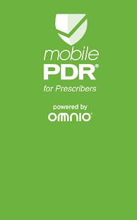 mobilePDR® for Prescribers
