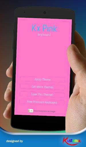Kx Pink Keyboard