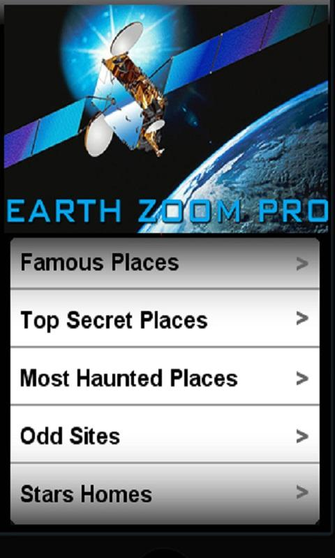 Earth Zoom Pro - screenshot