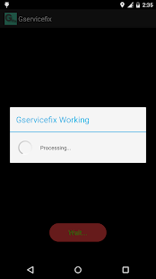 GServiceFix - screenshot thumbnail