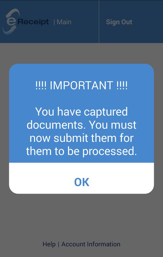 Flores e-Receipt- screenshot