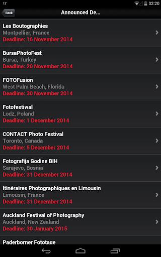 Photography Festivals Free