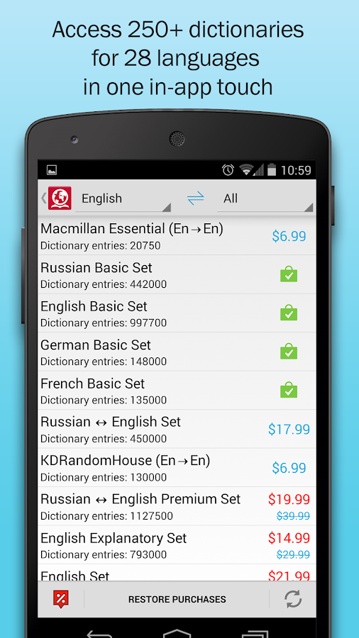 ABBYY Lingvo Dictionaries - Android Apps on Google Play