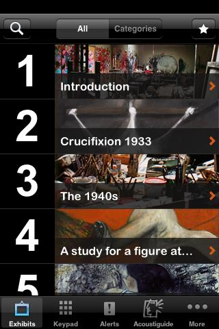 Francis Bacon: five decades- screenshot