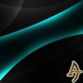 Theme XP Darkness TealOnBlack