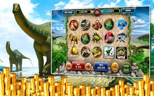 Jurassic Slots Vegas Pokies HD