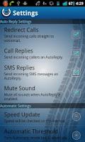 Screenshot of MyAutoReply Plus