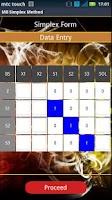 Screenshot of Simplex Method Solver