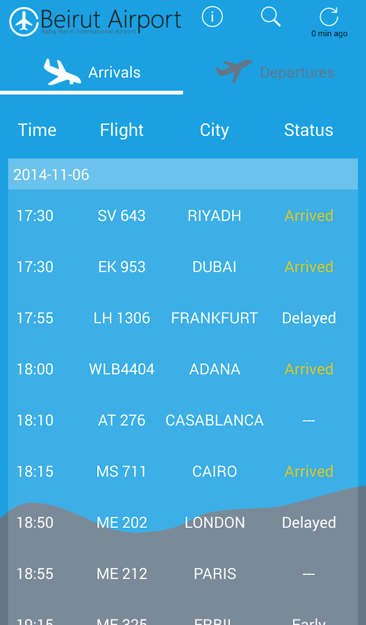 Beirut Airport- screenshot