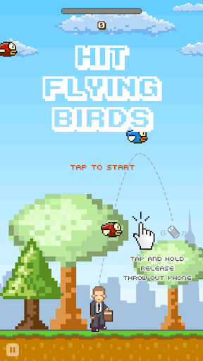 大哥大丟小鳥 - Hit Flying Birds