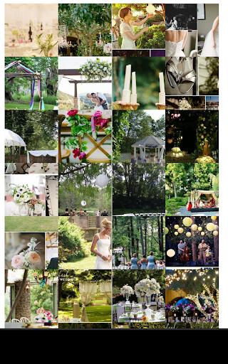 後院的婚禮創意