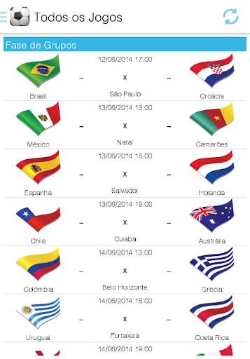 【免費運動App】Copa 2014-APP點子