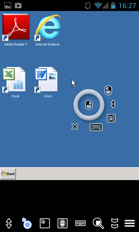 AccessToGo RDP/Remote Desktop - screenshot