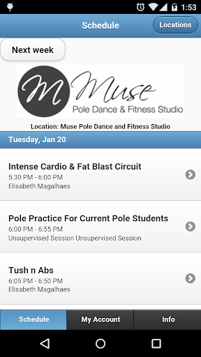 Muse Pole Fitness