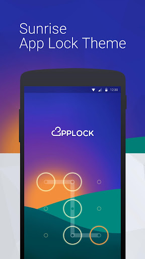 Sunrise: App Lock Theme