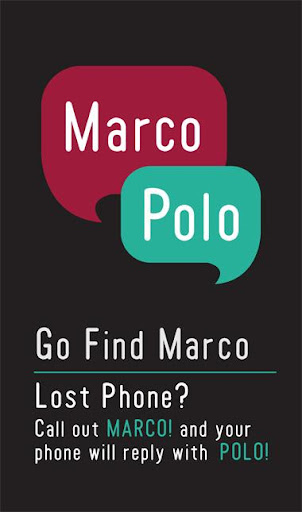 Go Find Marco Phone Finder
