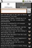 Screenshot of Inspiring Quotes - Full