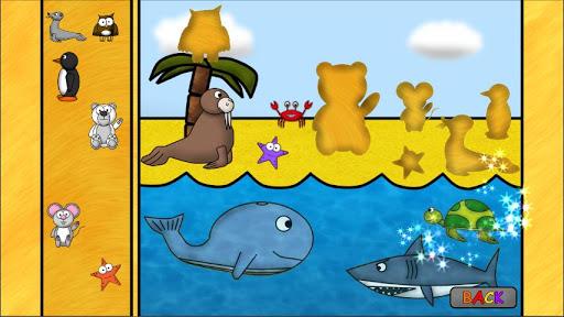 儿童动物游戏:谜语 - 教育 版