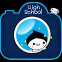 High School Sticker Camera
