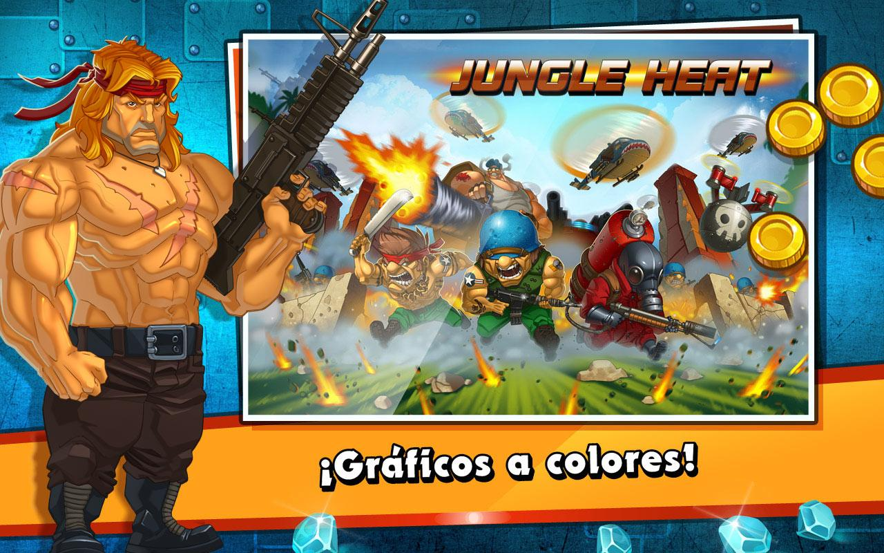 Jungle Heat - screenshot