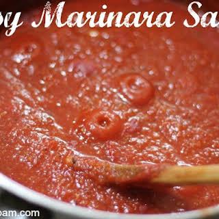 Easy Marinara Sauce.