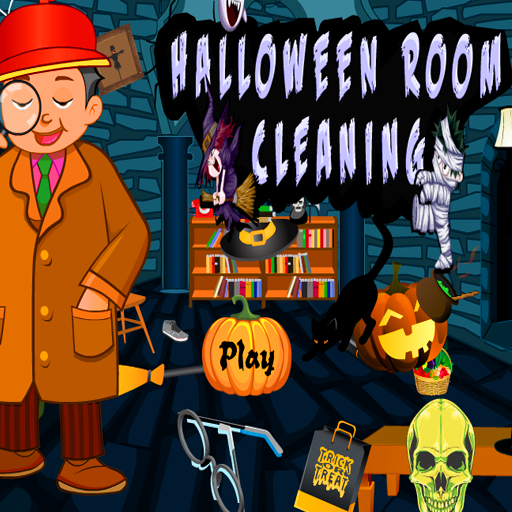 Halloween Room Cleaning