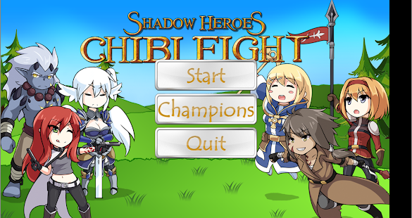 Shadow Heroes: Chibi Fight- screenshot thumbnail
