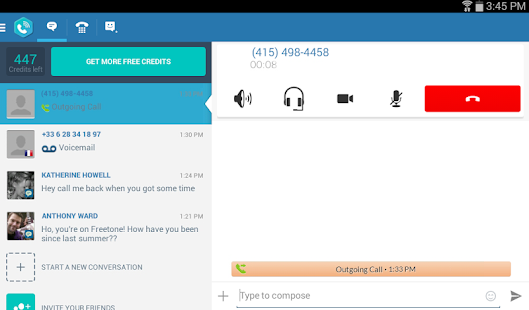 FreeTone Free Calls & Texting- screenshot thumbnail