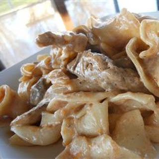 Tonya's Rich and Creamy Beef Stroganoff