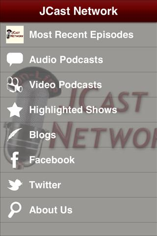 JCast Network- screenshot