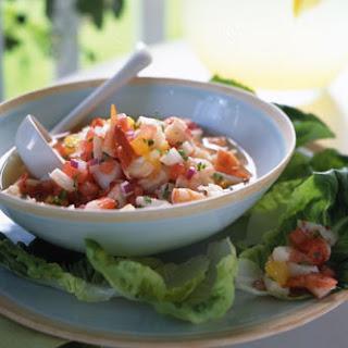 Shellfish Watermelon Ceviche