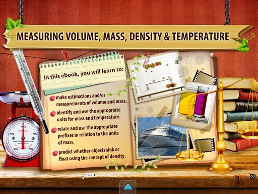Measuring Volume Mass Density