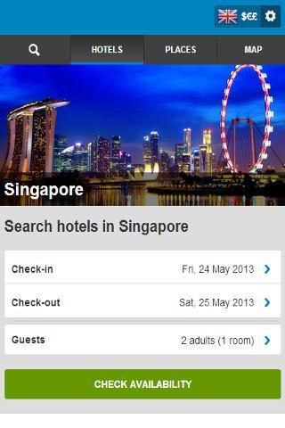 Singapore Hotel Bookings
