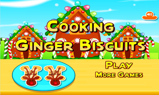 Ginger Biscuits Cooking Games