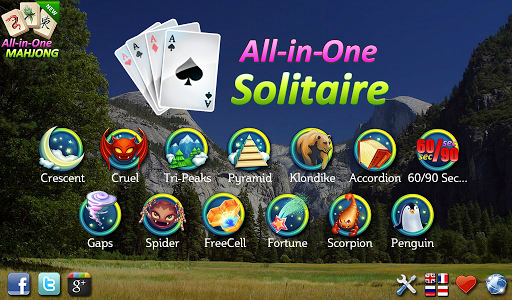All-in-One Solitaire FREE 20180609 screenshots 1