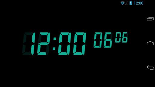 0.01秒デジタル時計