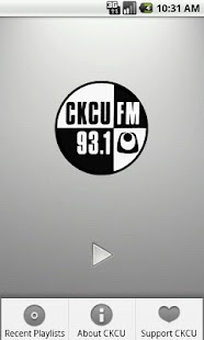 CKCU Radio - screenshot thumbnail