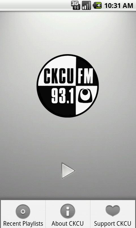 CKCU Radio - screenshot