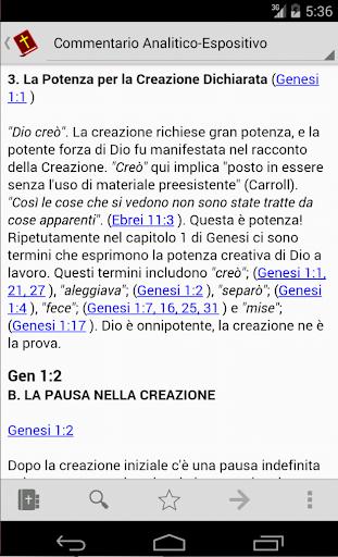 Commento Analitico Genesi