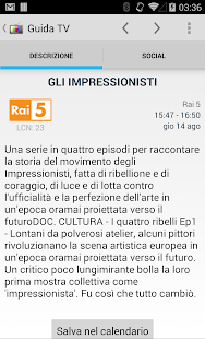TV Guide Italy FREE - screenshot thumbnail
