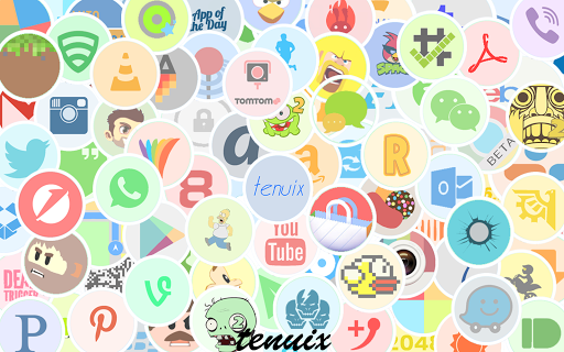 Tenuix - Icon Pack DONATE