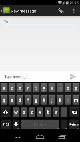 SMS Messaging (AOSP) Screenshot